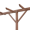 "Picture of Outdoor WPC Pergola 157""x15""x78"" - Brown"