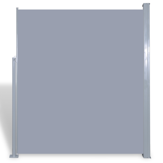 "Picture of Patio Retractable Side Awning 71""x118"" Gray"