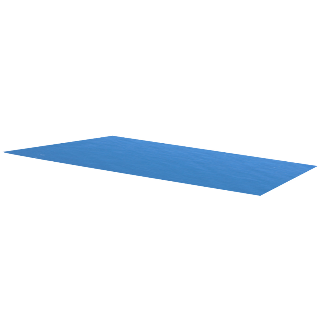 Picture of Pool Cover Rectangular 118 x 79 inch PE - Blue