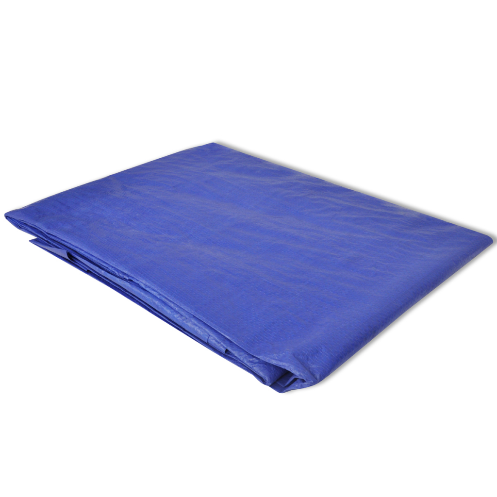 Picture of Pool Ground Cloth PE Pool Sheet Rectangular for 13' x 7'