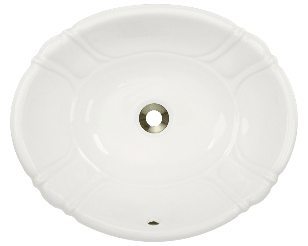 Picture of Porcelain Vessel / Drop-In Sink