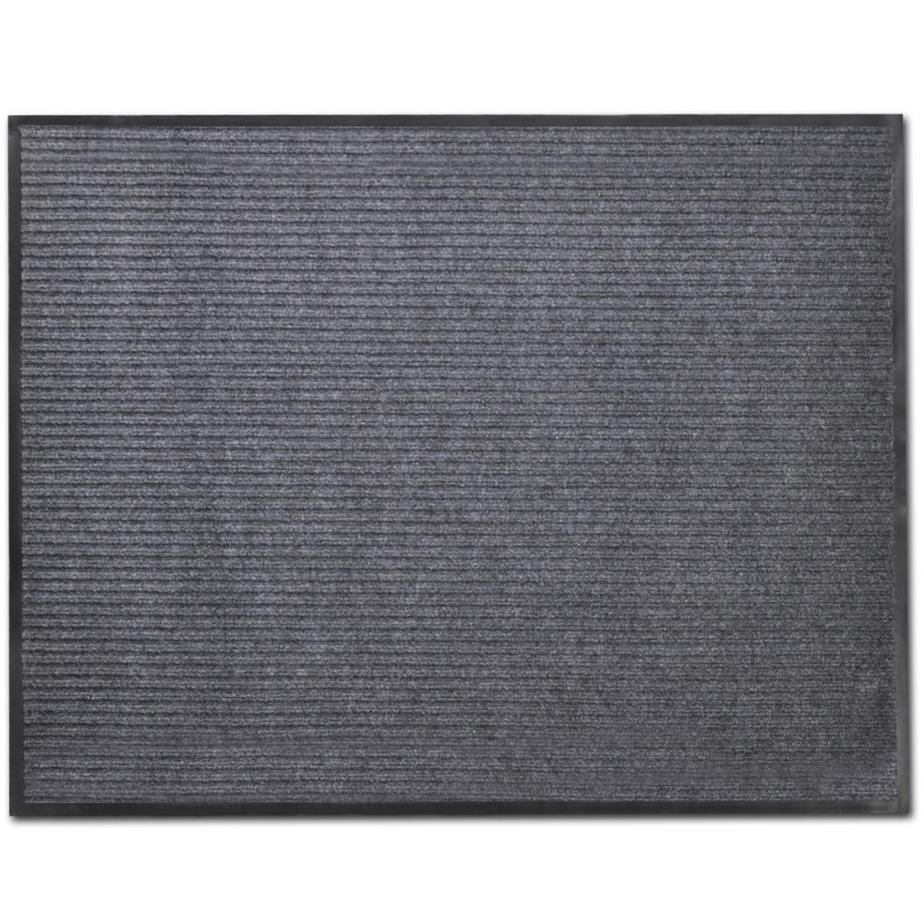"""Picture of PVC Door Mat 2' 9"""" x 1' 9"""" - Gray"""