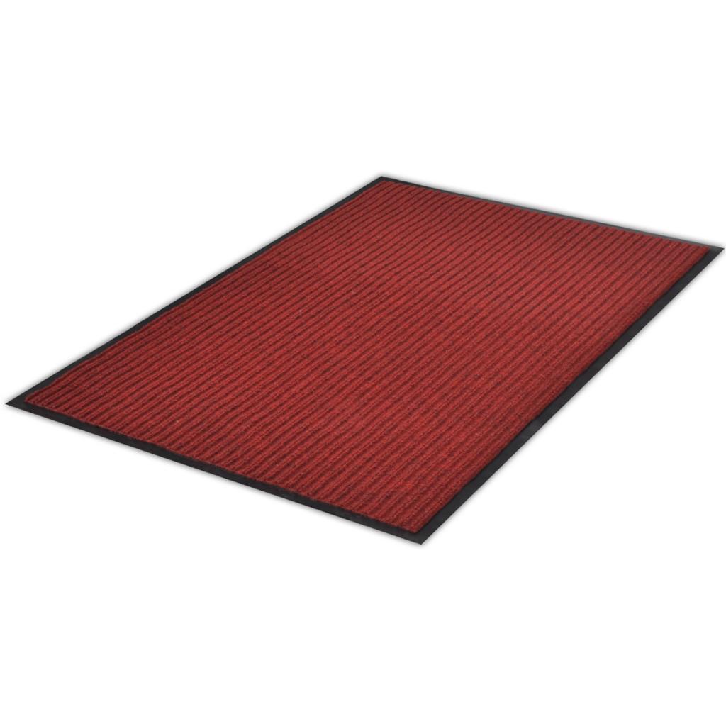 """Picture of PVC Door Mat 2' 9"""" x 3' 9"""" - Red"""