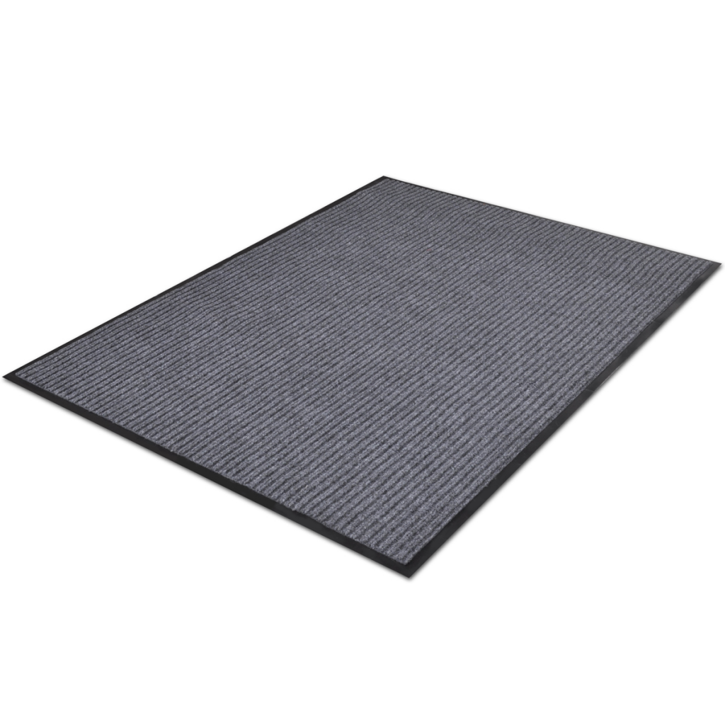 "Picture of PVC Door Mat 2' 9"" x 4' 9"" - Gray"