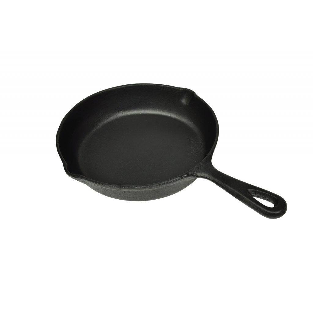 Picture of Set of 3 BBQ Steak Pans Cast Iron