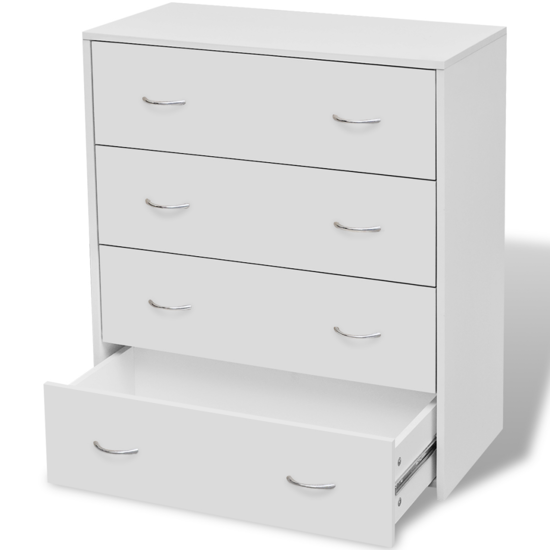 "Picture of Sideboard with 4 Drawers 23"" - White"