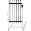 "Picture of Single Door Fence Gate with Spear Top 39""W x 67""H"