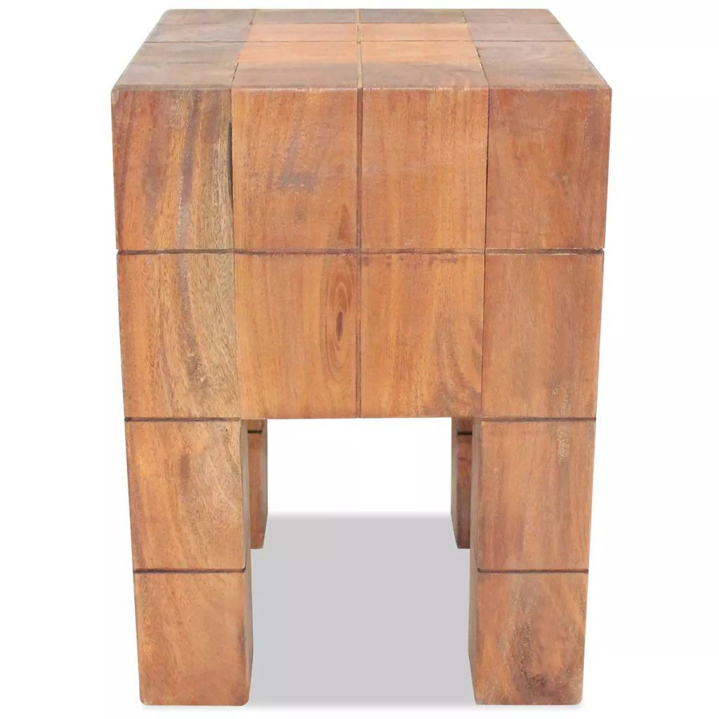 """Picture of Stool Solid Reclaimed Wood 11""""x11""""x15.7"""""""