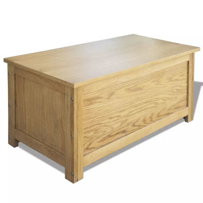 Picture of Storage Box - Oak
