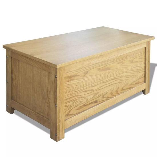 Picture of Storage Box - Oak