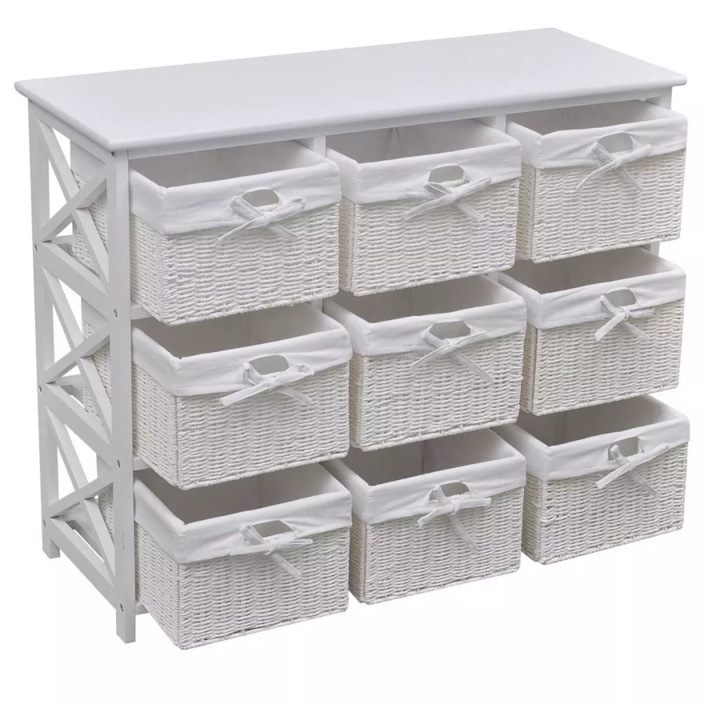 Picture of Storage Cabinet Akron White