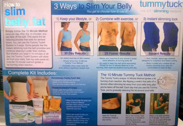 Picture of Tummy Tuck Miracle Slimming System - Size 1