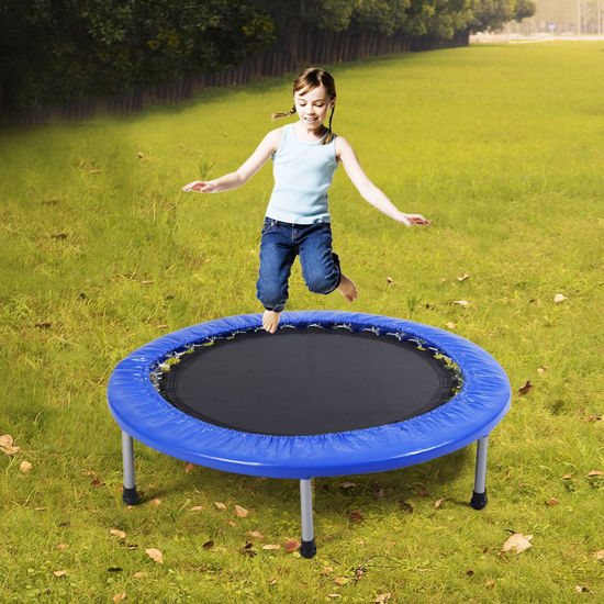 Picture of Trampoline Mini Band  Safe Elastic Exercise Workout with Padding & Springs 38''