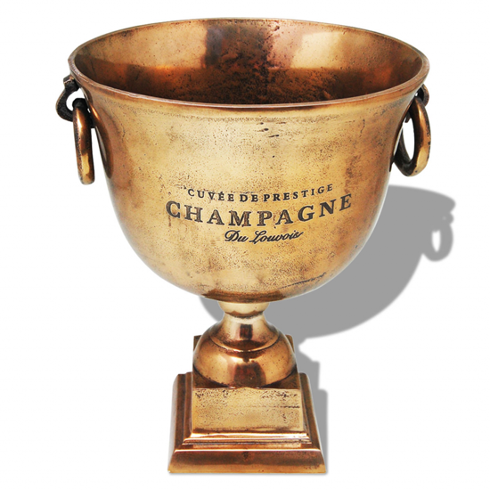 Picture of Trophy Cup Champagne Cooler Copper Brown