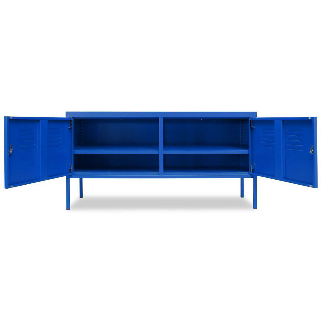 "Picture of TV Cabinet 46"" - Blue"