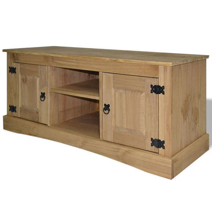 """Picture of TV Cabinet 47"""" - Mexican Pine Corona Range"""