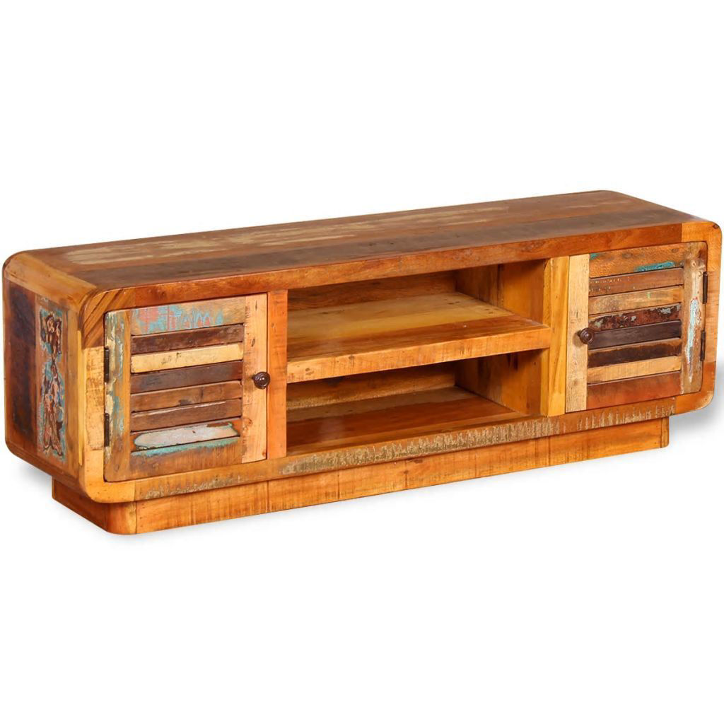 "Picture of TV Cabinet 47"" - Solid Reclaimed Wood"