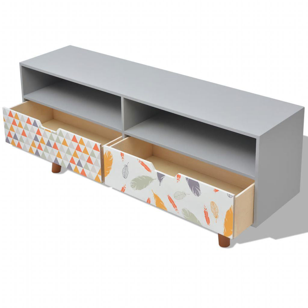 """Picture of TV Cabinet MDF 47"""" - Gray"""