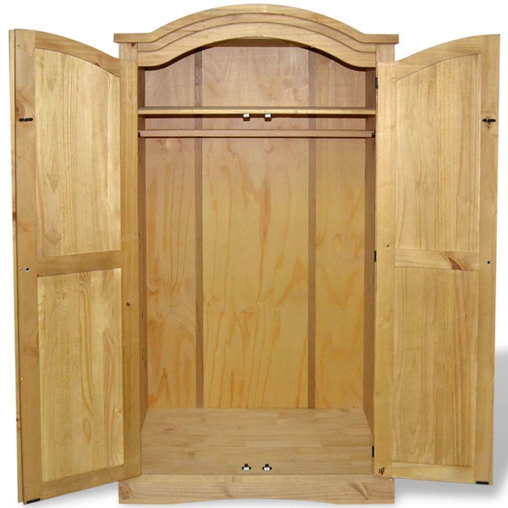 Picture of Wardrobe Mexican Pine Corona Range 2 Doors