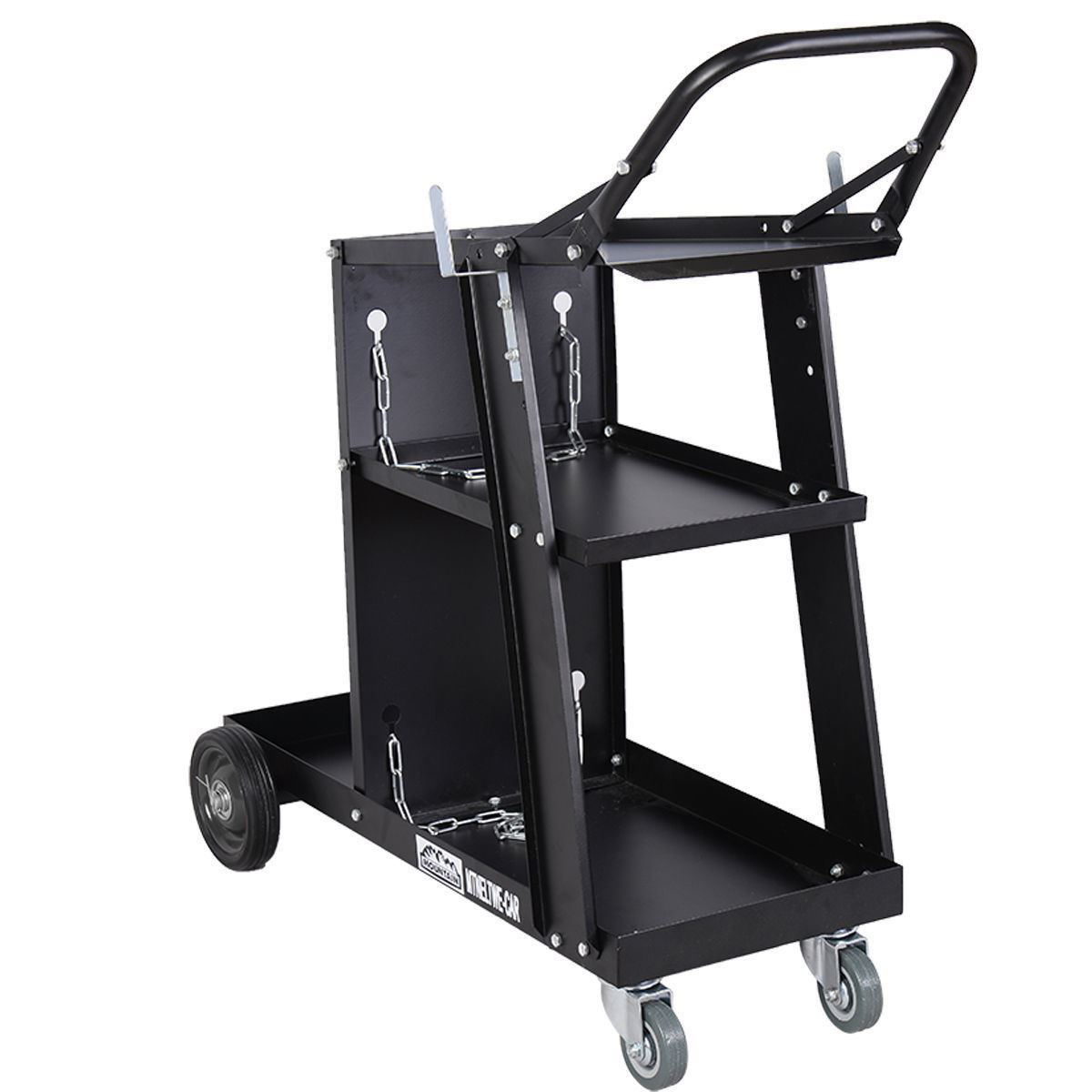 Picture of Welder Welding Cart Plasma Cutter MIG TIG ARC Universal Storage for Tanks