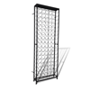 Picture of Wine Rack Free Standing Metal Bottle Holder for 108 Bottles