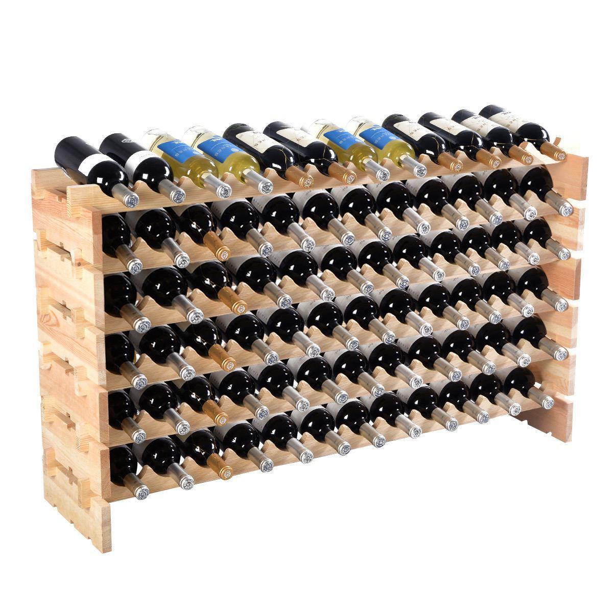 Picture of Wine Rack Holder Storage for 72 Bottles