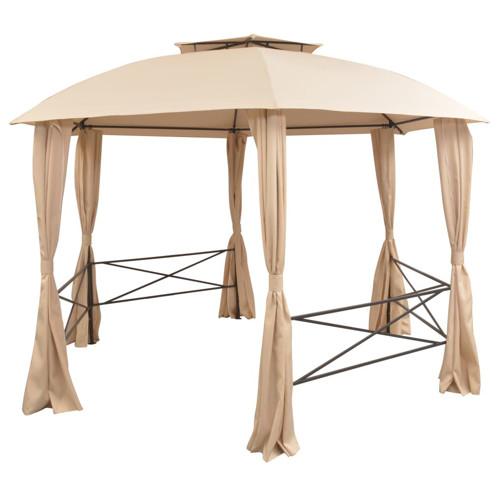 Picture of Outdoor Marquee Gazebo Tent with Curtains