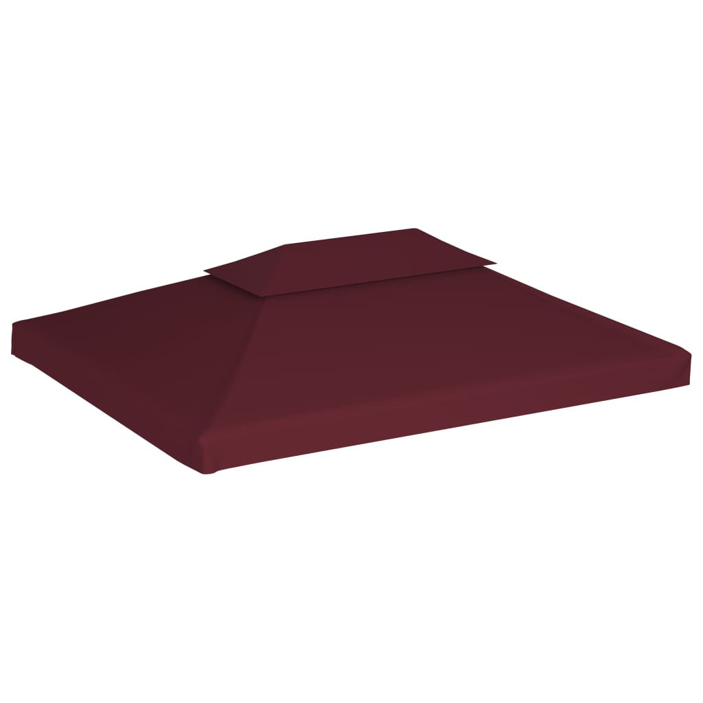 Picture of Outdoor Gazebo Top Cover - 2-Tier Bordeaux