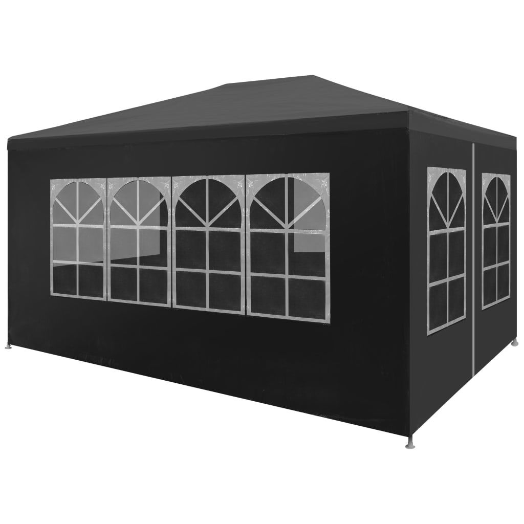 Picture of Outdoor Gazebo Canopy Tent - Anthracite