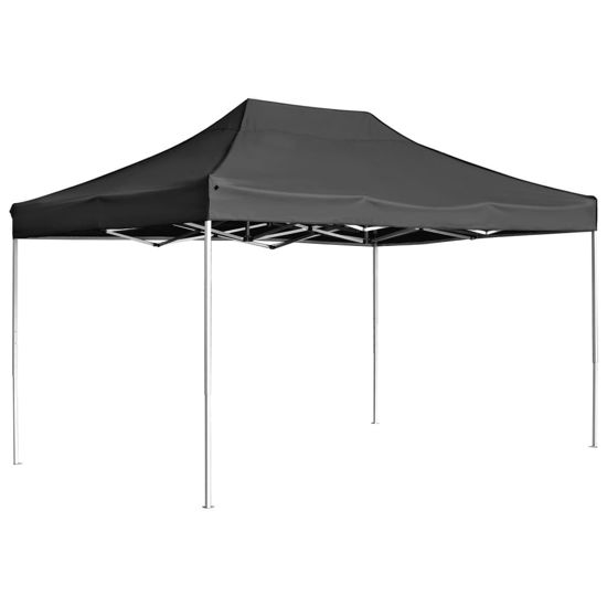 Picture of Outdoor Folding Aluminum Gazebo Tent - Anthracite