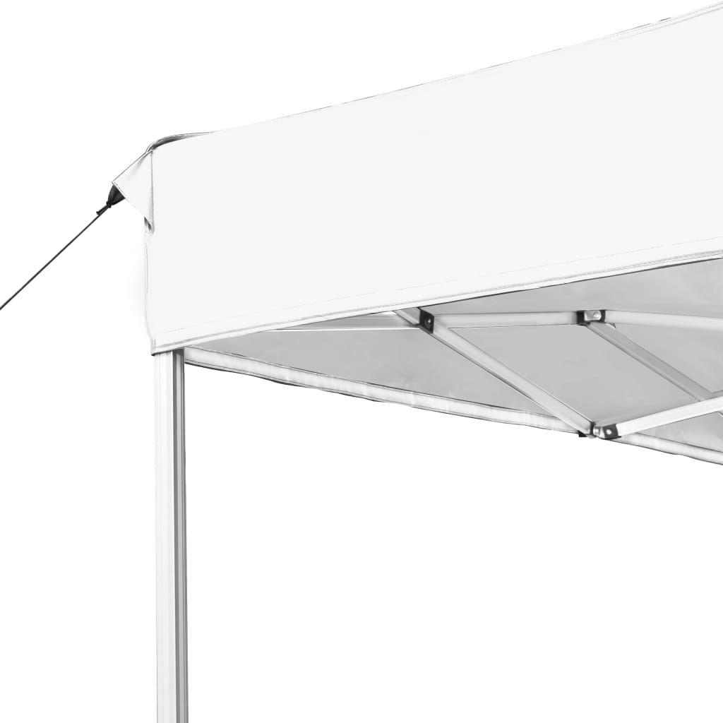 Picture of Outdoor Folding Aluminum Gazebo Tent - White