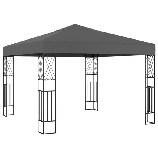Picture of Outdoor Gazebo Tent - Anthracite