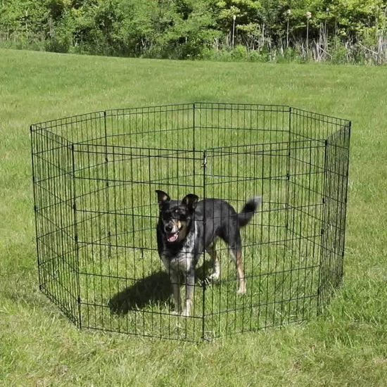 """Picture of Dog Pet Playpen 30"""" 8 Panel"""