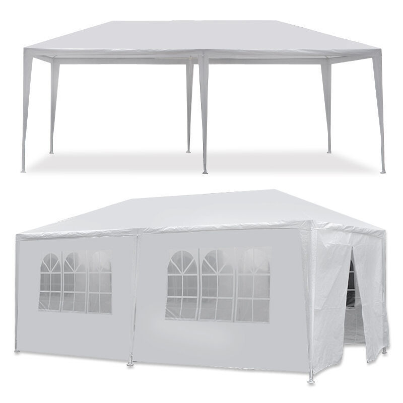 Picture of Outdoor 10' x 20' Tent with 6 Walls - White