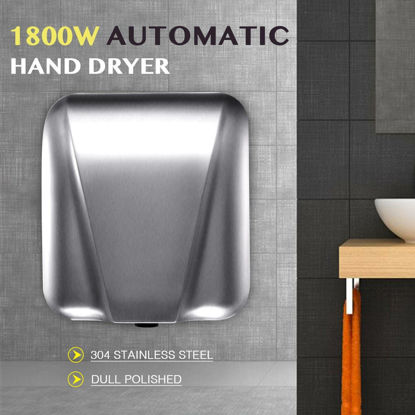Picture of Automatic Hands Drying Hand Dryer 1800W