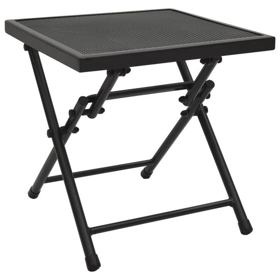 """Picture of Outdoor Folding Table 15"""" - Anthracite"""