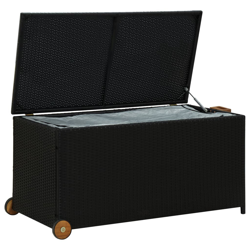 """Picture of Outdoor Storage Box 51"""" Black"""