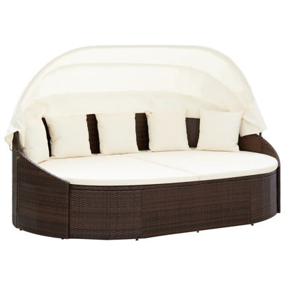 Picture of Outdoor Lounge Bed - Brown