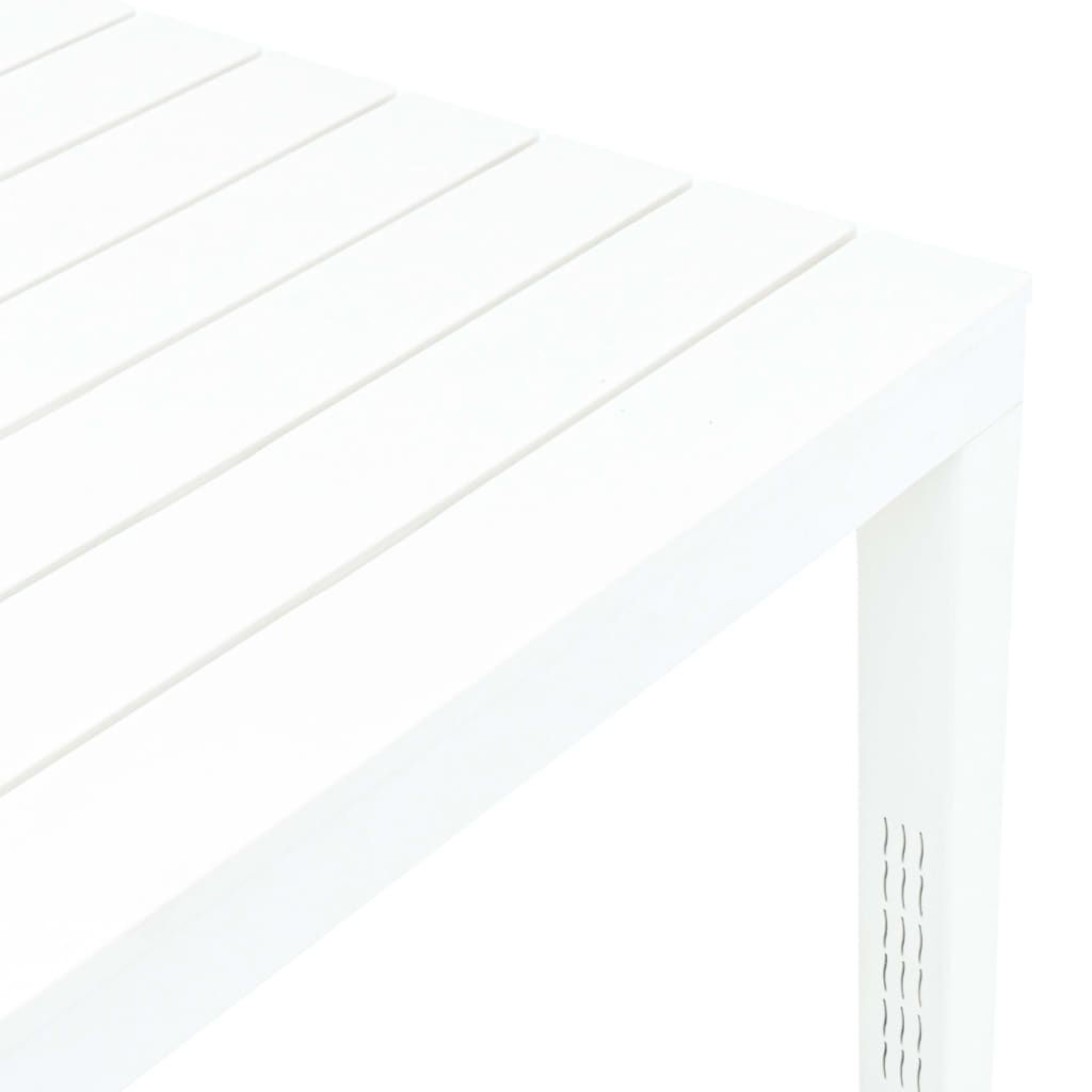 Picture of Outdoor White Plastic Table 30""