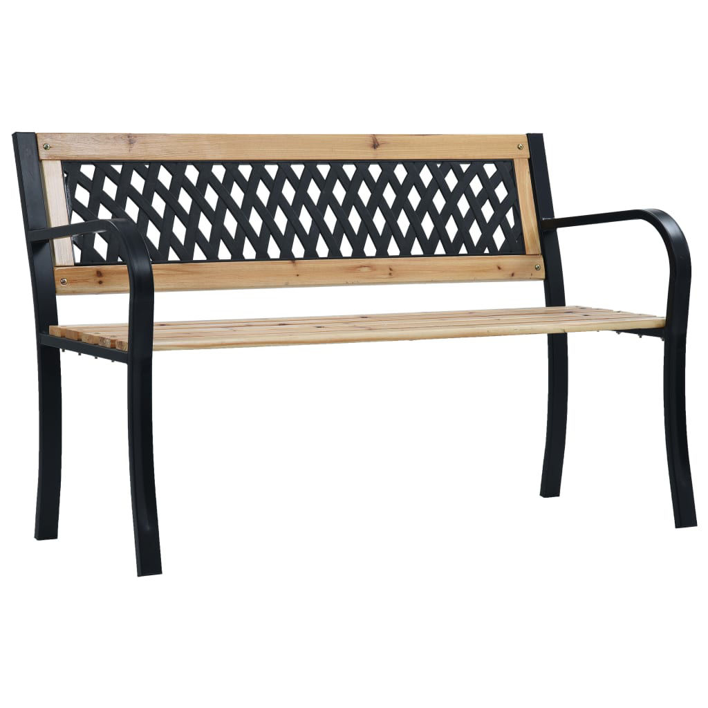Picture of Outdoor Wooden Bench