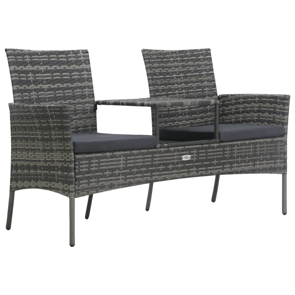 Picture of Outdoor 2-Seater Sofa with Table