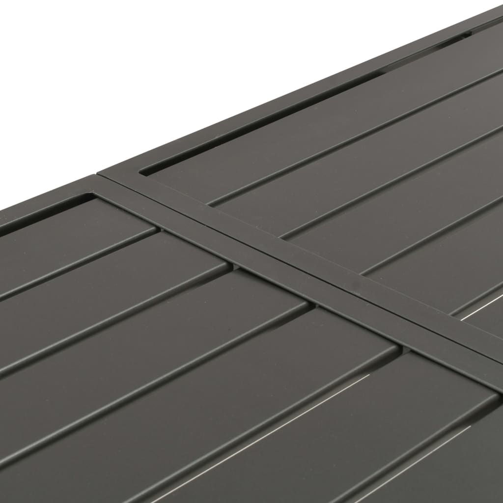 """Picture of Patio Table 70"""" - Dark Gray"""