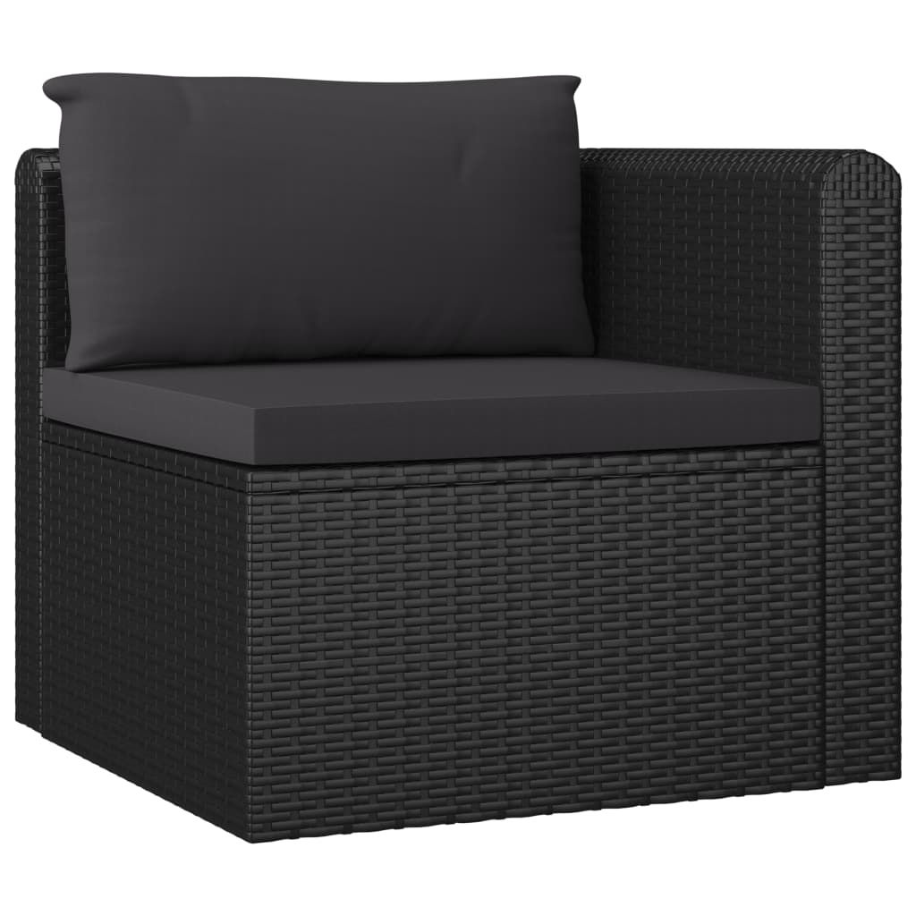 Picture of Outdoor Furniture Set - Black 7 pc