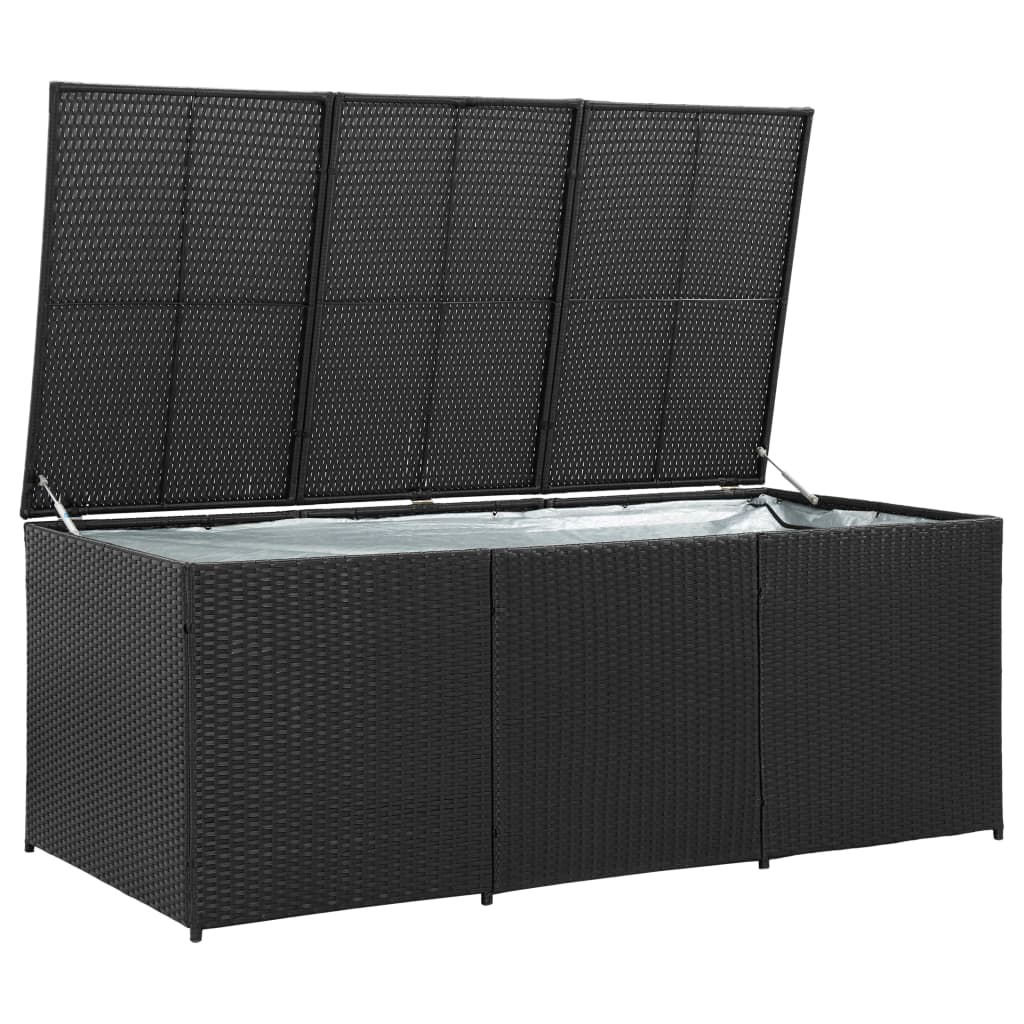 """Picture of Outdoor Storage Box - 70"""" Black"""