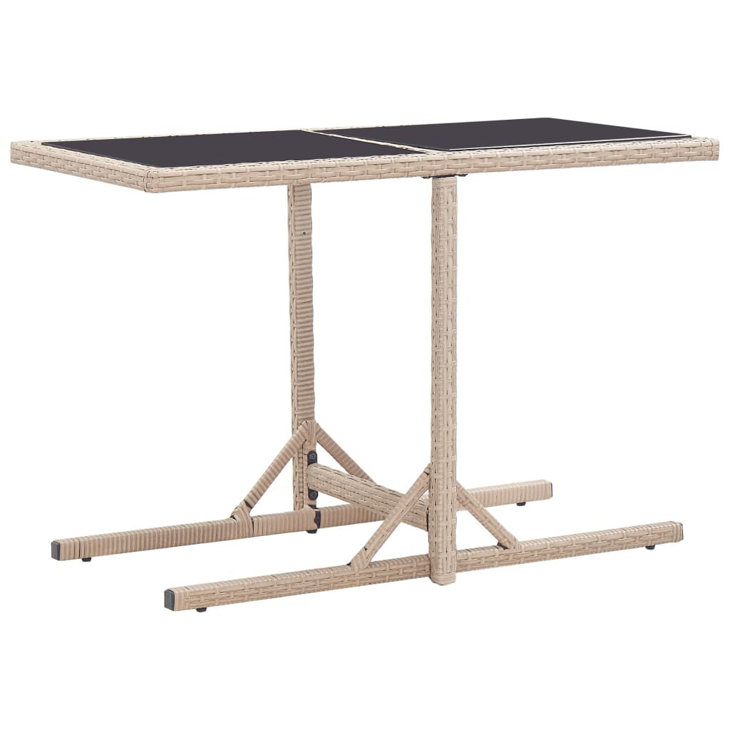 """Picture of Outdoor Patio Table 43"""" Beige"""