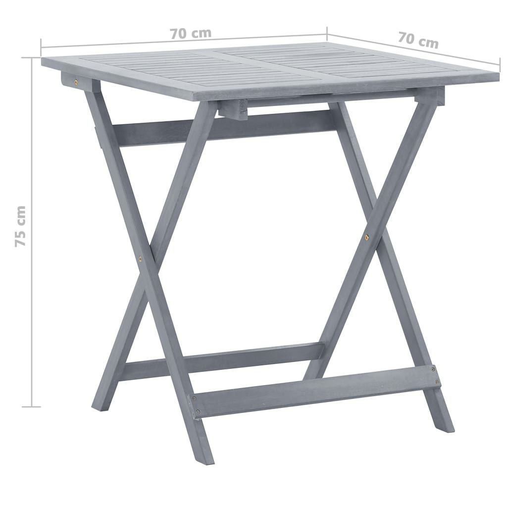 Picture of Outdoor Folding Table 27""