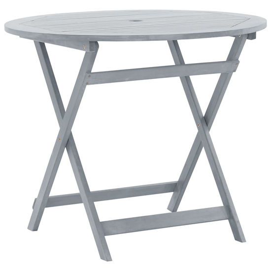 """Picture of Outdoor Folding Table 35"""""""