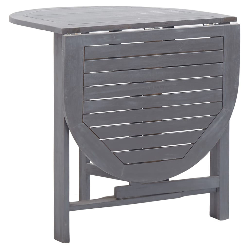 """Picture of Outdoor Folding Table 47"""" - Gray"""