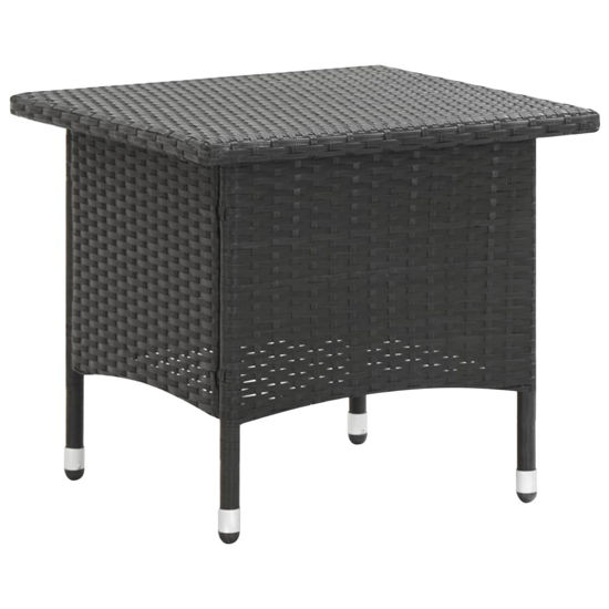 "Picture of Outdoor Tea Table 19"" Black"