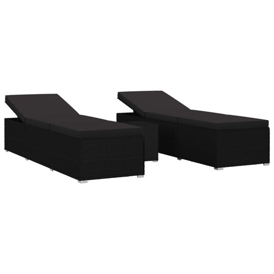 Picture of Outdoor Lounger - Black